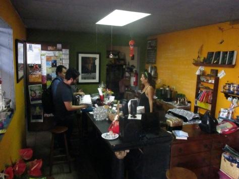 El Café de La Casa Tomada